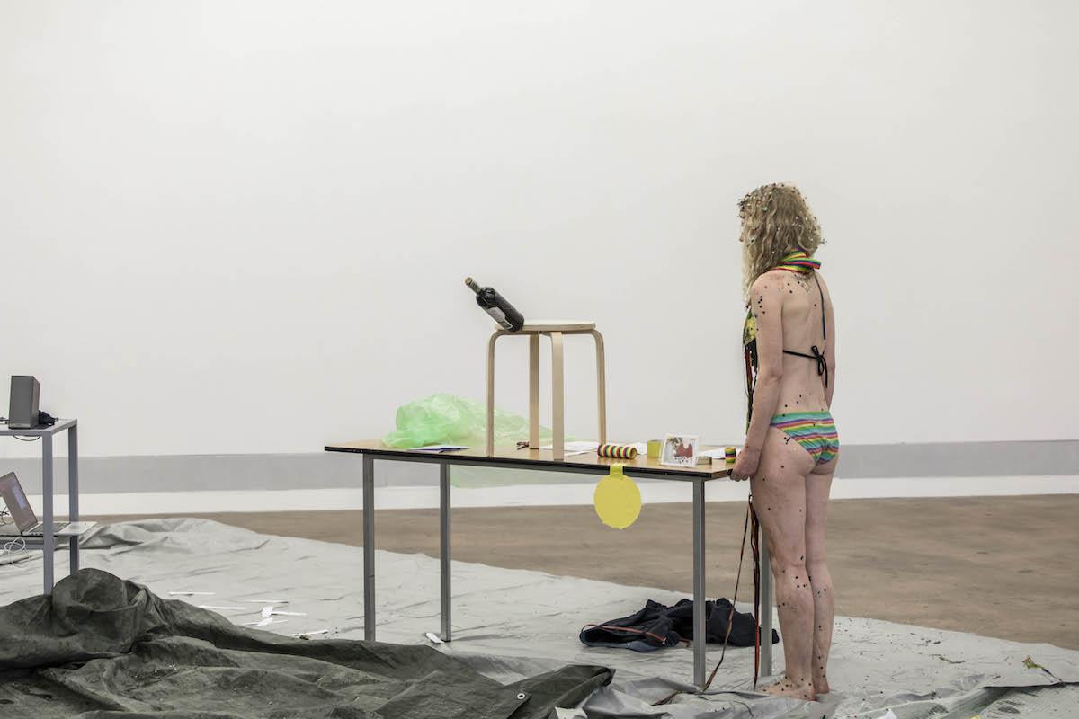 Akku Kunstplattform, Emmenbrücke (CH), 2019. Foto: Luis Hartl