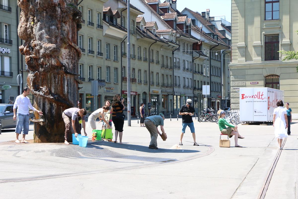 Waisenhausplatz Bern (CH), 2015. Foto: Ariane Tanner